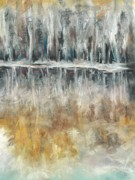 Abstract Art Pastels - Theres Two Sides To Everything by Frances Marino