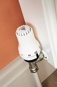 Self-control Prints - Thermostatic Radiator Valve Print by Mark Sykes