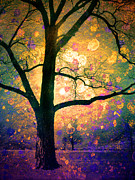 Fantasy Tree Art Prints - These Dreams Print by Tara Turner
