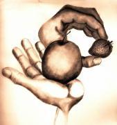 These Hands Print by John Stuart Webbstock