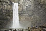 Taughannock Falls Posters - These Picturesque Waterfalls Poster by Tim Laman