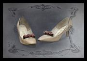 High Heels Art Art - These Shoes Used to Dance by Betty LaRue