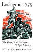 United States Propaganda Art - They Fought For Freedom We Fight To Keep It by War Is Hell Store