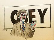 Obey Paintings - They Live by Christopher Chouinard