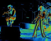 Concert Images Metal Prints - Thick as an Electric Brick Metal Print by Ben Upham