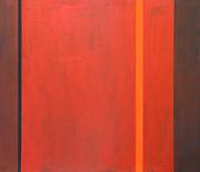 Thin Orange Band Print by Kazuya Akimoto