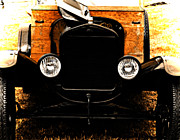 Antique Automobiles Digital Art Framed Prints - Things that crank Framed Print by Steven  Digman