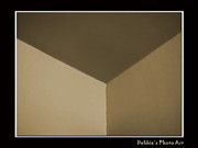 Think Outside Or Inside The Box    Optical Illusion Print by Debbie Portwood