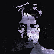 John Lennon  Art - Thinking about Love  by Stefan Kuhn