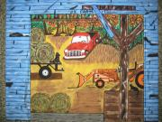 Old Barn Paintings - Thinking About You by Jeffrey Koss