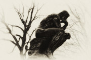 Rodin Prints - Thinking Of You Print by Bill Cannon