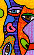 Pop Art Painting Originals - Third Eye Rising by Steven Scott