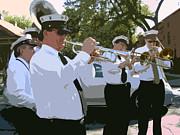 Third Line Brass Band Print by Renee Barnes
