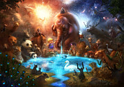 Featured Digital Art - Thirst For Life by Alex Ruiz