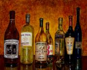Winery Paintings - Thirsty by Debra Keirce