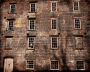 Historic Buildings Prints - Thirteen Windows Print by Colleen Kammerer