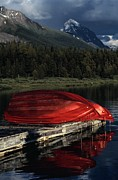 Boathouses Photos - This Boathouse Has Catered To Anglers by Raymond Gehman