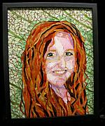 Mixed-media Glass Art - This Child Of Mine by Annie Thomas-Burke