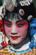 Costume Jewelry Art - This Close Up Shows A Chinese Woman by Paul Chesley