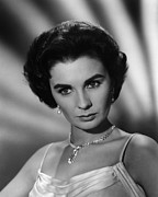 1950s Portraits Photo Metal Prints - This Earth Is Mine, Jean Simmons, 1959 Metal Print by Everett
