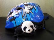 This Helmet Is So Heavy Ugh Print by Ausra Paulauskaite