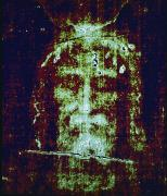 Shroud Of Turin Framed Prints - This Is A Computer-enhanced Image Framed Print by Victor R. Boswell, Jr