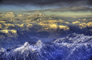British Columbia Photo Originals - This is British Columbia No.24 - The Rockies Twin Peaks by Paul W Sharpe Aka Wizard of Wonders