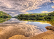British Columbia Photo Originals - This is British Columbia No.28 - Conkle Lake by Paul W Sharpe Aka Wizard of Wonders