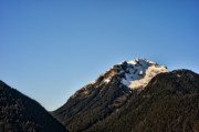 British Columbia Originals - This is British Columbia No.46 - Snow Capped Mountain by Paul W Sharpe Aka Wizard of Wonders