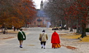Colonial Scene Prints - This is Colonial Williamsburg Print by E Robert Dee