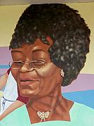 Murals - this is Edie Mae Henderson by Charles Peck