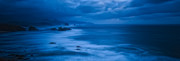 Ocean Panorama Originals - This is Oregon State 11 - The Blue Hour on Cannon Beach by Paul W Sharpe Aka Wizard of Wonders