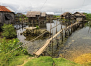 Bamboo Originals - This is the Philippines No.10 - Pilar Fishing Village by Paul W Sharpe Aka Wizard of Wonders