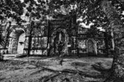 Tree Roots Prints - This is the Philippines No.10 - San Juan Nepomuceno Church Print by Paul W Sharpe Aka Wizard of Wonders