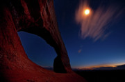 Williams Photos - This is Utah No. 2 - Williams Arch Stars by Paul W Sharpe Aka Wizard of Wonders
