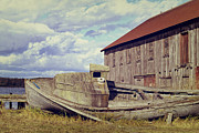 Broken Down Photos - This is Washington State No. 14 - By The Old Dock by Paul W Sharpe Aka Wizard of Wonders