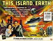 This Island Earth, Faith Domergue, Rex Print by Everett