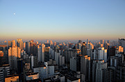 Sao Paulo Photo Framed Prints - This Mornings First Lights Framed Print by Alceu Baptistão