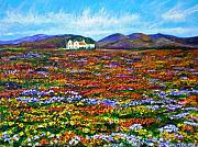 Floral Landscape Posters - This Must Be Heaven Poster by Michael Durst