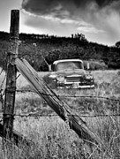 White Chevy Photos - This Ol Truck Dont Give A... by Kevin Munro