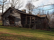 Log Cabins Photographs Photos - This Old Cabin by Robert Margetts