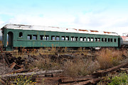 Napa Valley Wine Train Posters - This Old Train Has Seen Better Days . 7D8994 Poster by Wingsdomain Art and Photography