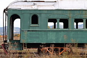 Napa Valley Wine Train Posters - This Old Train Has Seen Better Days . 7D9007 Poster by Wingsdomain Art and Photography