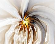 Abstract Flowers Digital Art - This too will pass... by Amanda Moore