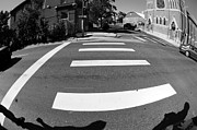 Crosswalks Prints - This Way Print by Melissa Haley