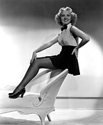 Grable Metal Prints - This Way Please, Betty Grable, 1937 Metal Print by Everett