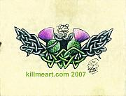 Celtic Knot Drawings