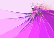 Violet Art Originals - Thistle by Michael Durst
