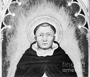 Metaphysics Photo Framed Prints - Thomas Aquinas, Italian Philosopher Framed Print by Science Source