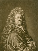 British Portraits Metal Prints - Thomas Betterton C. 1635-1710, Leading Metal Print by Everett